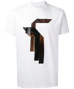 Neil Barrett | Wood Print T-Shirt