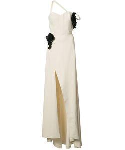 Rosie Assoulin | Grape Appliqué Gown