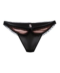 Chantal Thomass | Lace Detail Thong Size Xs
