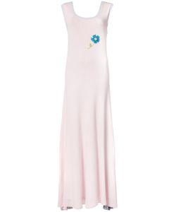 Natasha Zinko   Knit Color Block Maxi Dress Size Small
