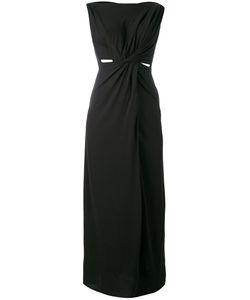 Rick Owens Lilies | Jersey Long Sleeveless Drape Dress Size 40