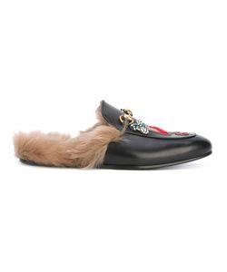 Gucci | Appliqué Princetown Slippers