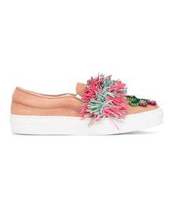 Gedebe | Lesly Embellished Slip-On Sneakers