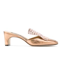 Sergio Rossi | Embellished Mules Size 39