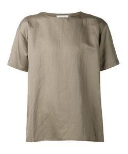 Second/Layer | Poplin Round Neck T-Shirt