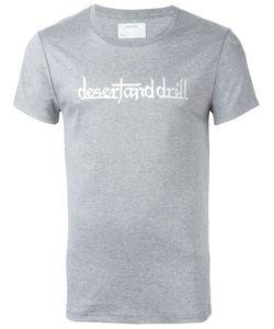 Yoshio Kubo | Desert And Drill Print T-Shirt