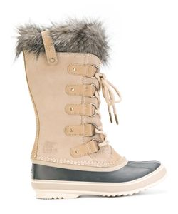 SOREL | Furry Trim Ankle Length Boots