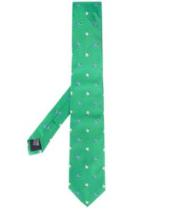 Fefè | Flower Embroidered Tie