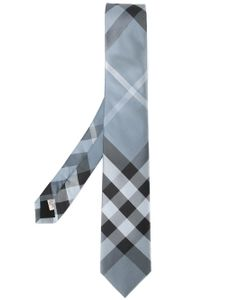 Burberry London   Plaid Pattern Tie