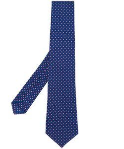 Kiton | Micro Geometric Pattern Tie