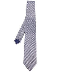 Brioni | Geometric Micro-Design Pattern Tie