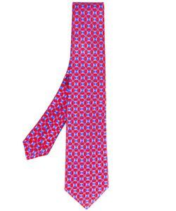 Kiton | Geometric Square Print Tie