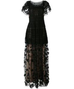 Alberta Ferretti   Embroidered Gown 48