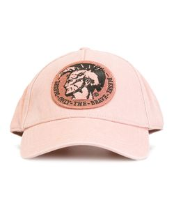 Diesel   Embroidered Logo Cap Size Small
