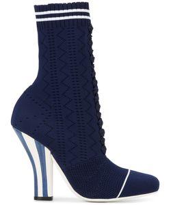 Fendi | Lace Up Sock Booties