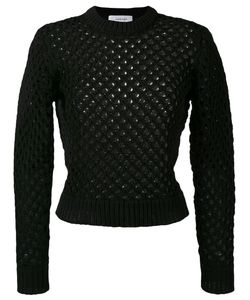 Carven | Holey Knit Sweater S