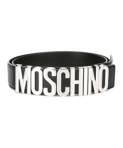 Moschino | Logo Plaque Belt Size 90