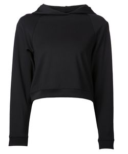 Getting Back To Square One   Cropped Hooded Sweatshirt