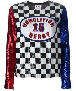 Filles A Papa | Derby Sequin Sweatshirt