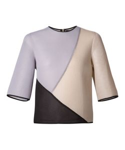 Dominic Louis | Mesh Colour Block Top