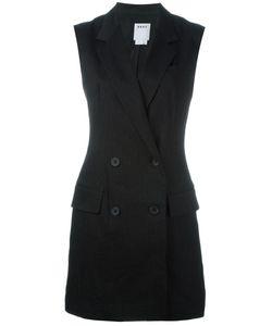 DKNY | Pinstripe Blazer-Style Playsuit
