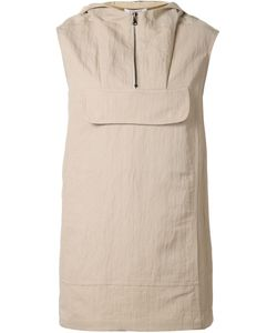 Nomia | Sleeveless Hooded Top