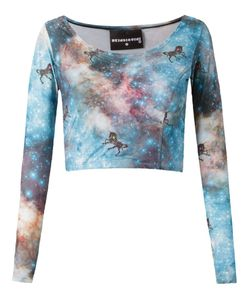 Skinbiquini | Cropped Unicorn Top
