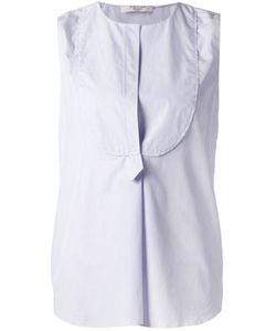 Atlantique Ascoli | Bib Panel Sleeveless Blouse