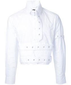 Craig Green | Cropped Eyelet Studded Shirt