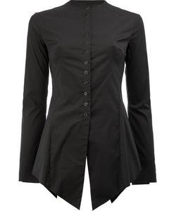 Masnada | Pointed Hem Shirt Size 40