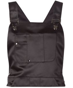 Koonhor | Satin Dungaree Top