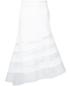 Robert Wun | Sheer Panel Skirt