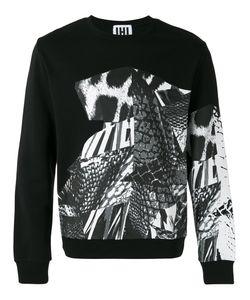Les Hommes Urban | Multi-Pattern Sweatshirt Size Xl