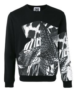 Les Hommes | Printed Sweatshirt Size Small