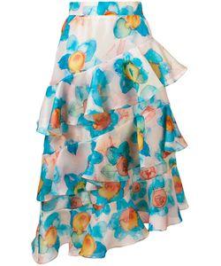 Daizy Shely | Ruffled Midi Skirt