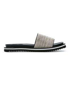 Steffen Schraut | Chain Trim Sandals 37 Leather/Metal Other/Foam