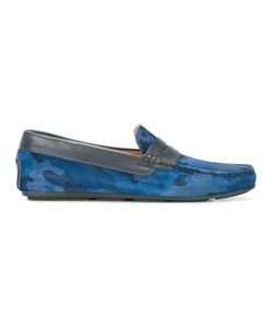 Santoni | Printed Driving Shoes Size 9