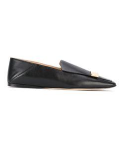 Sergio Rossi   Square Toe Loafers Size 37.5
