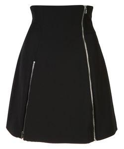 Jeremy Scott | Zip-Detail Flare Skirt 40