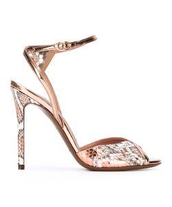 L'Autre Chose | Snakeskin-Effect Sandals Size 37
