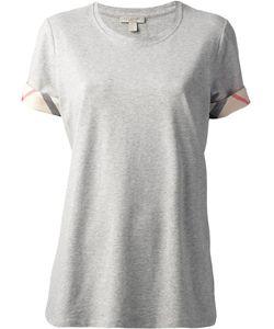 Burberry Brit | House Check Cuffs T-Shirt