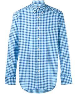 Canali | Gingham Button Down Shirt