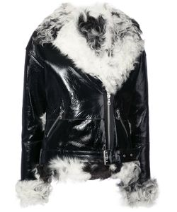 Sandy Liang | Shearling-Trim Jacket Women