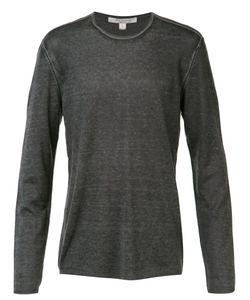 John Varvatos | Reverse Print Long Sleeve Sweater Size Xl