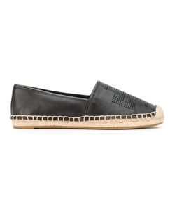 Tory Burch | Perforated Logo Espadrilles Size 6