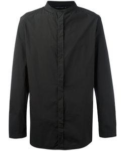 Transit | Collarless Shirt Large Cotton/Spandex/Elastane