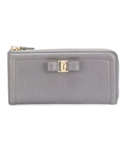 Salvatore Ferragamo | Vara Zip-Up Continental Wallet Calf
