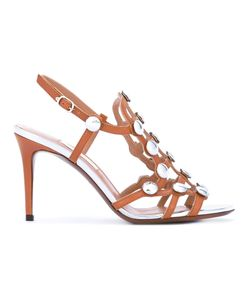 L'Autre Chose | Studded Sandals Calf Leather/Leather/Metal Other