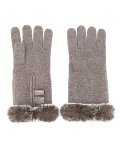 N.Peal | Fur Trim Gloves