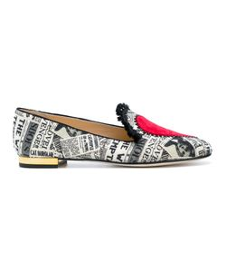 Charlotte Olympia | Printed Slippers 38.5